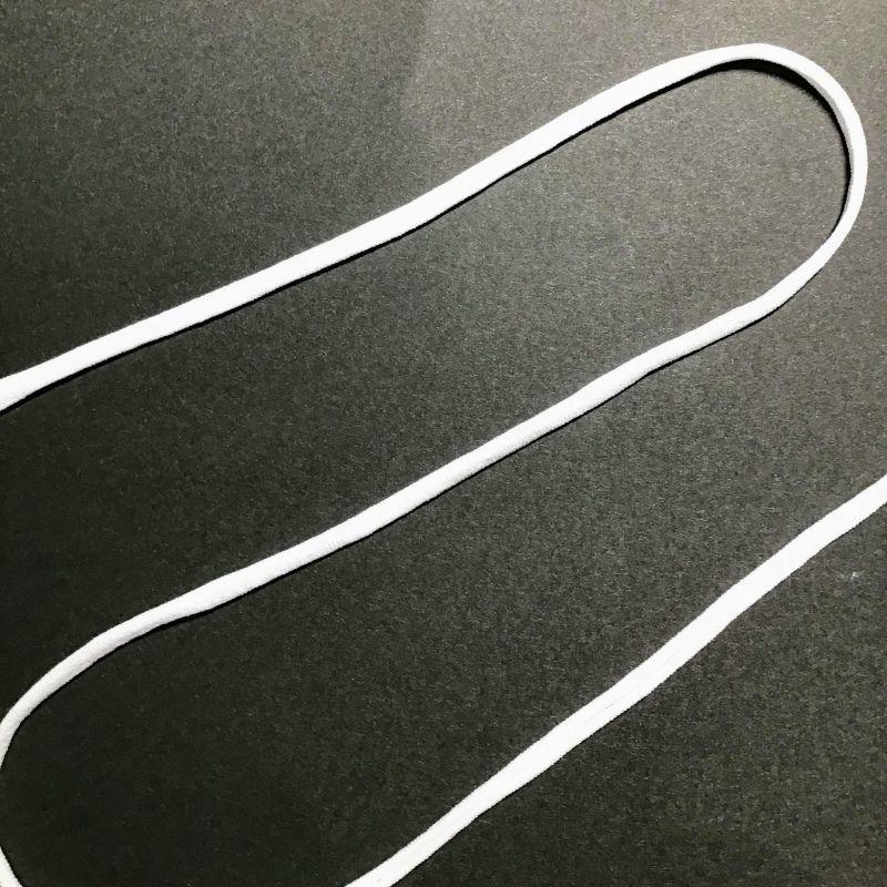 画像1: マスクゴムに使える布★レオタードの裏地白 (1)